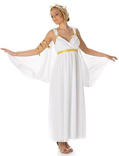 Kostüm Frauen Aphrodite - Aphrodite Damen Altgriechische Göttin Römische Frauen Erwachsene Kostüm (Small European 36 - 38 (UK 8 - 10))