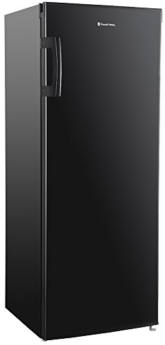 Russell Hobbs Freestanding 142cm Tall Larder Fridge, A+ Rating, 235Litre Capacity, Black, RH55LF142B Best Price and Cheapest