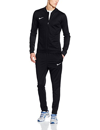 Nike Herren Academy 16 Knit Trainingsanzug - Schwarz (Black/White) , L -