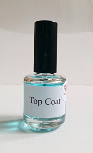 NEW Nail Art Top Coat Séchage Rapide Transparent pour nail art, colles gel nail Accessoires clair vernis à ongles 15 ml