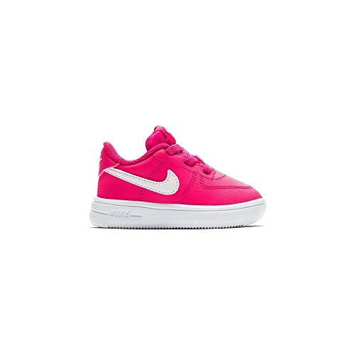 Nike Force 1 '18 TD, Zapatillas de Estar por casa Bebé Unisex, Multicolor Rush Pink/White 000...