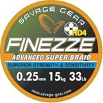 Savage Gear Finezze HD4 Braid - Yellow 10lbs - 0.08mm