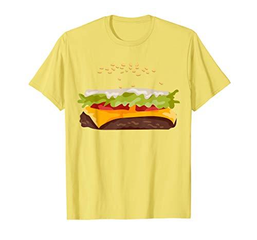 Hamburger Halloween Costume T-Shirt (Für Sandwich-ideen Halloween)