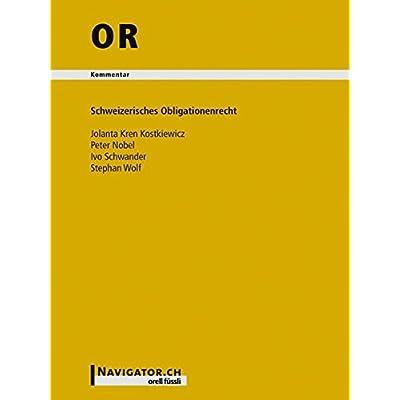 Download Or Handkommentar Schweizerisches Obligationenrecht Pdf Wenceyechi