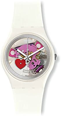 Swatch Reloj de cuarzo Unisex Tender Present  34 mm