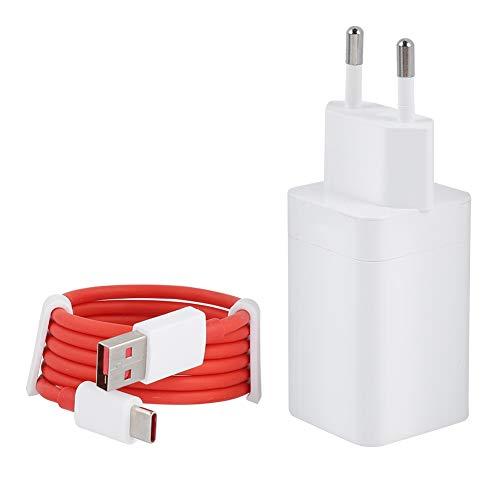 nterfaccia Caricatore da Muro USB 5V / 4A Caricatore per Dash per Oneplus 5 / 5T / 3 / 3T e Altri Telefoni Android(USB+Type-C)