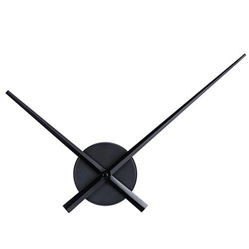 Mudder 3D Uhrzeiger DIY Wanduhr für Küchen Büro und Wohndekoration Quartz Uhr Bewegung Mechanismus Zubehör