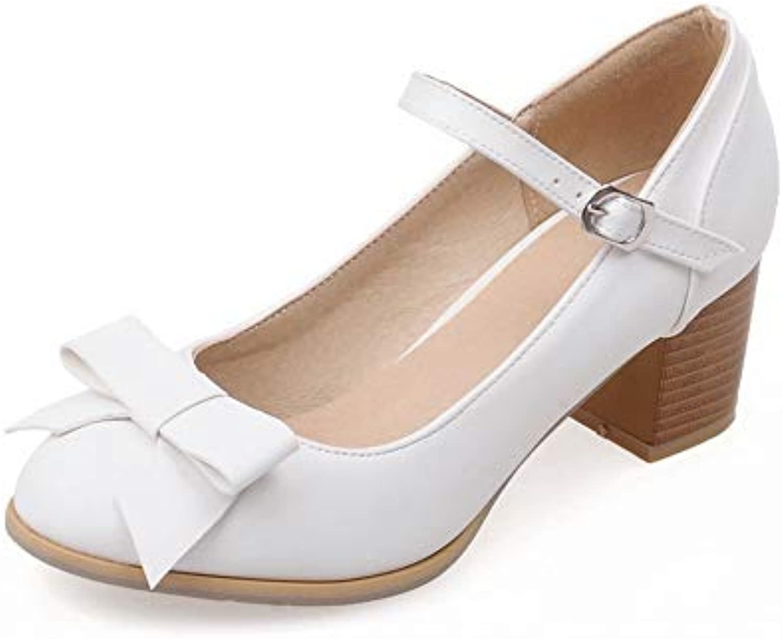 AdeeSu SDC05672,  s Compensées 36.5B07GT65ZPFParent Femme - Blanc - Blanc, 36.5B07GT65ZPFParent Compensées 1a3869