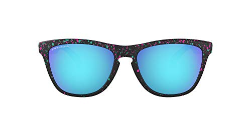 Oakley Gafas de Sol FROGSKINS OO 9013 SPLATTER COLLECTION BLACK SPOTTED/PRIZM SAPPHIRE IRIDIUM unisex
