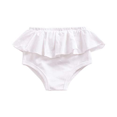 Urmagic Pantalons Bloomers Bébé Enfants Filles Volants Triangle PP Shorts Bas Pantalon pour 0-4 Ans