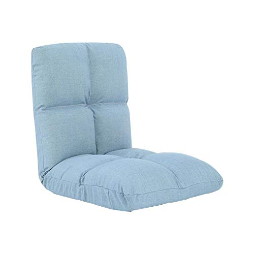 KILLYSUFUY Home Adjustable Memory Foam Floor Chair Padded Gaming Chair...