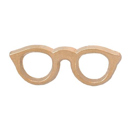 JTXZD Brosche 11 Styles Sonnenbrillen Emaille Pins Gläser Abzeichen Benutzerdefinierte Broschen Tasche Kleidung Anstecknadel Coole Sunglasse für Freund