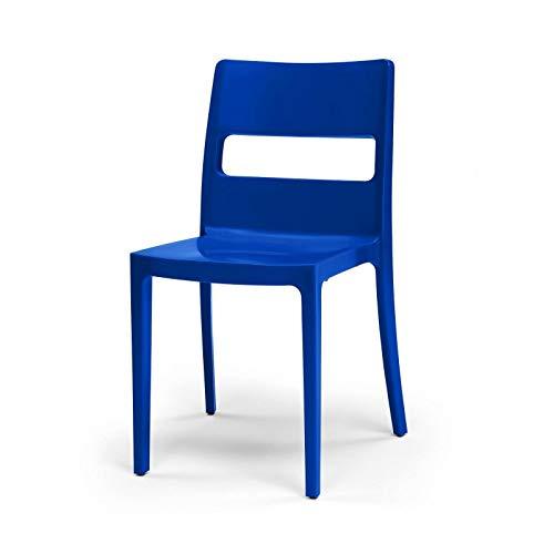 Scab Chaises design deco 6 SAI 6 Lot de bleues 9YbD2eWEHI