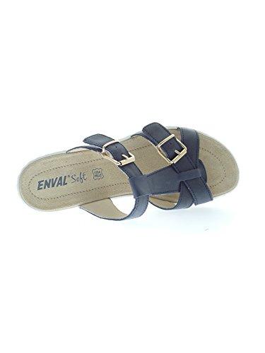 ENVAL , Damen Dusch- & Badeschuhe Blu