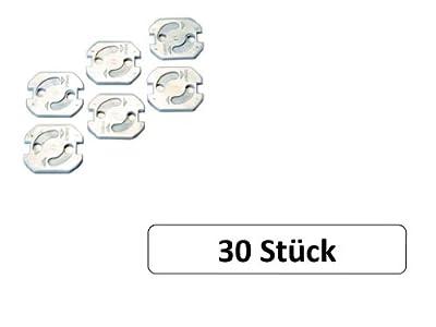 30 Stück Steckdosensicherung weiß von MS-Warenvertrieb auf Lampenhans.de