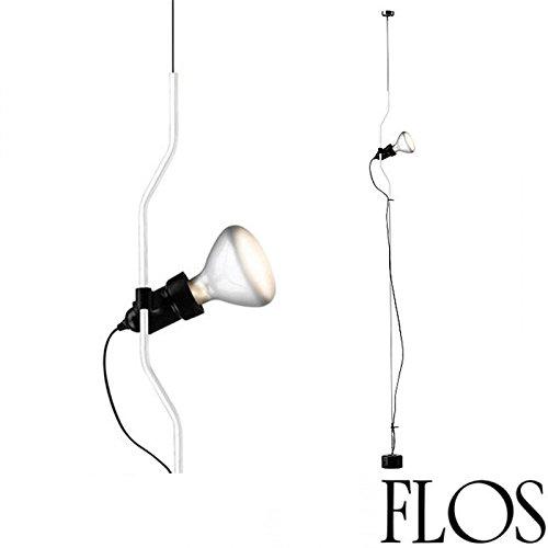 Flos parenthèse Lampe suspension Blanc f5400009 Ampoule LED incluse