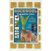 Advanced Nutrition Rockwool Propagation Cubes - Tray Of 24 Test