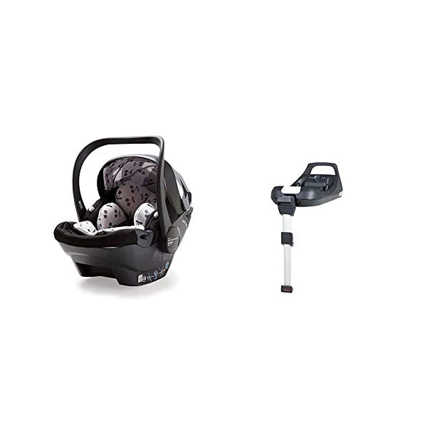 Cosatto Dock i-Size 0+ Car Seat, Mademoiselle with Baby Car Seat Base and Dock/Multi Brand Adaptors Cosatto Premium from-birth up to 15 months car seat; i-Size when used with ISOFIX base (sold separately) Impact protection - reinforced protective shell and high performance energy-absorbing construction Designed to fit your cosatto wow, giggle 2 or whoop pram chassis. 1