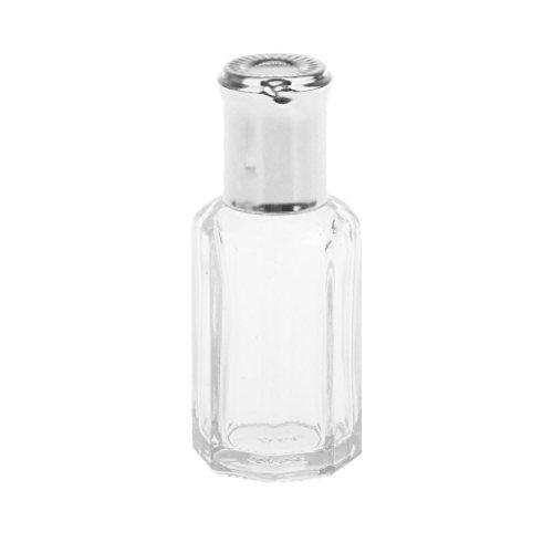 12ml Portátil De Viaje Vacío Roll-on Perfume De Cristal De La Botell