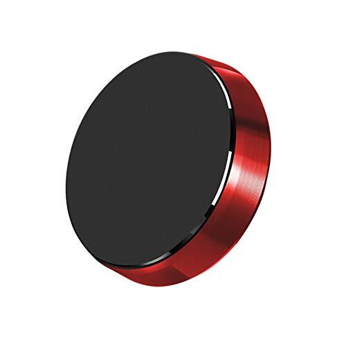 chlliacrow Lenker Montieren Halfter Magnetisch Silikon Universal, Universal Magnetisch Auto Dashboard Mobile Telefonhalterung Halter für iPhone Red -