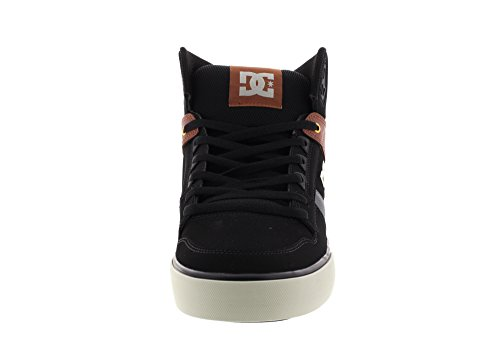 DC Shoes Spartan High WC, Baskets Hautes Homme Black Tan