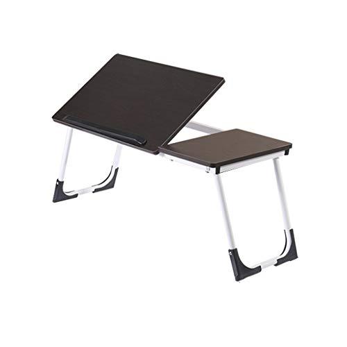 MTX Ltd Tischlaptop Wandtabelle Klapptisch Faltbarer Laptop-Tischbett Verstellbarer Laptop-Bettrahmen Tragbarer Tisch mit Multifunktionsschreibtisch für Jeden Anlass