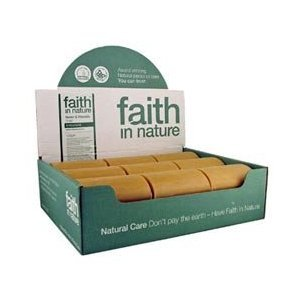 Faith in Nature Neem Soap Unwrapped 18 x 100g Bars
