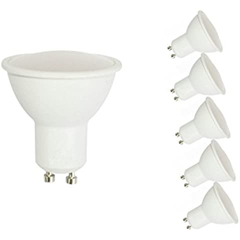 CYLED Lampada a LED, MR16, GU10, 5W,
