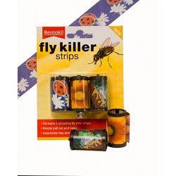 Rentokil Fly tueur Strips 3 Package antiparasitaire