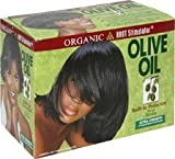 Organic Root Stimulator Olive Oil No-Lye Hair Relaxer Extra Strengh