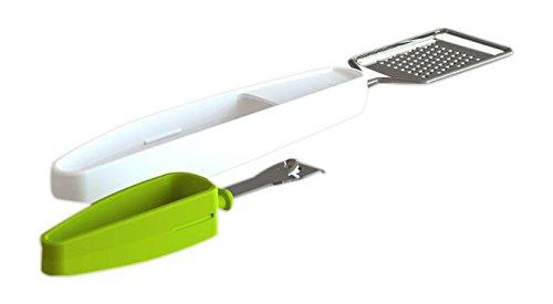 Tomorrow's Kitchen 4664660 - Rallador de cítricos+ pelador, color blanco