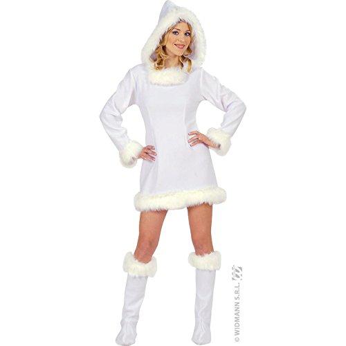 Widmann wid57521 - costume per adulti eschimese, bianco, s
