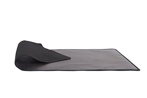Alfombra ignífuga protectora de suelo para chimenea (50 x 100 cm)