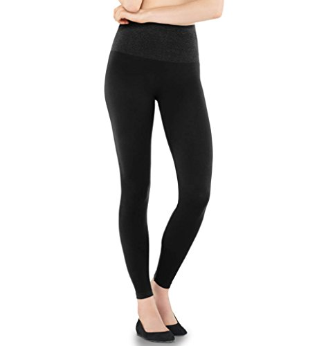 Damen Shapewear Slim Leggings Taillen-Leggings Bauchweg Miederhose schwarz