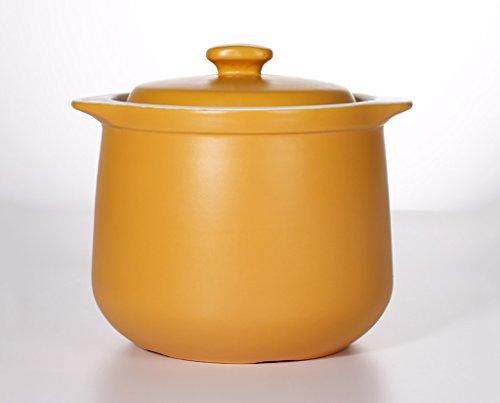 HGNsg Topf Topf Großraum-Haushalt-keramischer Auflauf-Suppe-Topf-Doppelt-Ohr-Hitze-koreanischer Topf-Topf-Eintopf-Topf-Hochtemperatur-geöffneter Feuer-Gesundheitstopf 4L Kochen - Kochen-stein Koreanisch
