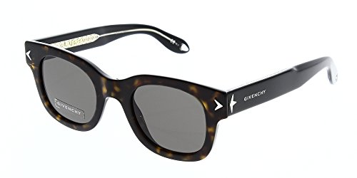 Givenchy gv 7037/s nr 9wz 47, occhiali da sole unisex-adulto, nero (havana black crystal/brown)