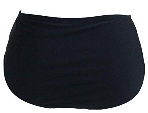 erdbeerloft - Damen Bikini Pant High Waist in uni, L-5XL, Viele Farben Violett