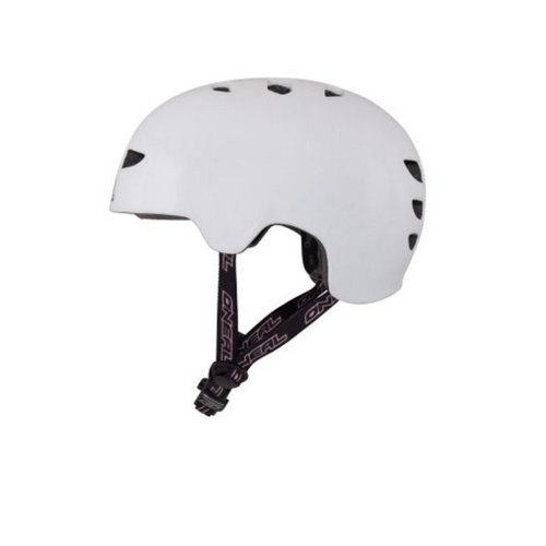 O'Neal Dirt Lid Fidlock ProFit Inmold Helm PLAIN Downhill Fahrrad Helm MTB Enduro, 0581F-2, Größe Medium (55 - 56 cm)