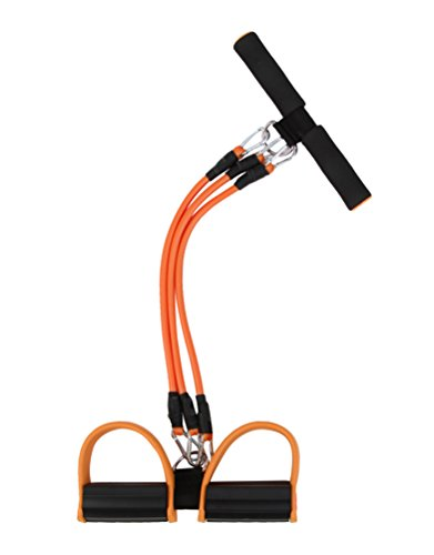 Fitnessgeräte Beine Sit-ups 3 Latex Schlauch mit hoher zugkraft, sicher Abbildung 2