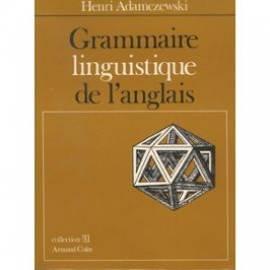 Grammaire linguistique de l'anglais