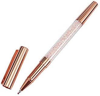 IDEA IDEA IDEA High - Set di penne a sfera in metallo e cristalli, ricarica da 0,5 mm | Lascia che i nostri beni escano nel mondo  | Sensazione Di Comfort  | Tatto Comodo  54c999