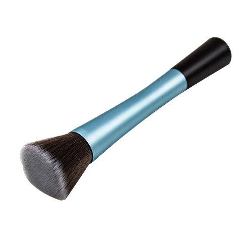 Blush Poudre Cosmétique Pointillé Pinceau Fond De Teint Outil De Maquillage Bleu Modèle1051