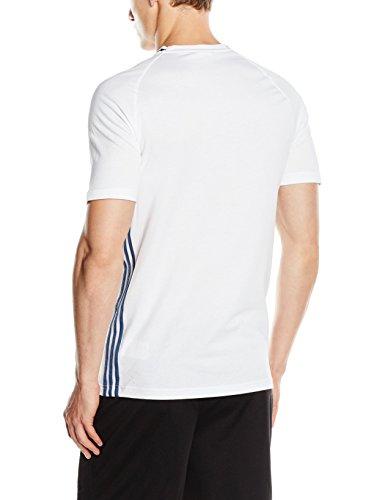 adidas Herren T-Shirt Euro 2016 Anthem White/Night Marine/Scarlet