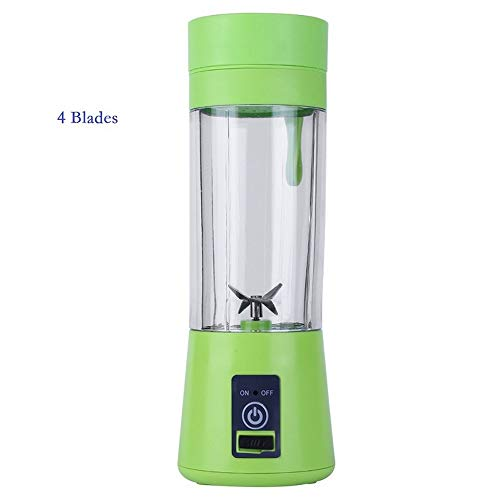 380Ml 4 Blades Handhels Juicer Bottle Portable Mini USB Electric Fruit Citrus Lemon Juicer Blender Squeezer Reamer Machine,F