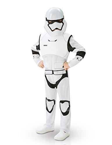 Stormtrooper Star Wars Deluxe Teenkostüm Lizenzware weiss-schwarz 110/116 (5-6 (Kostüm Eigene Wars Star)