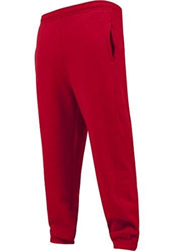 Urban Classics Damen Hose Loose Fit Sweatpants Red