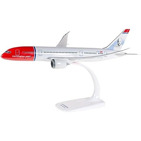 Herpa 610216-001 - Norwegian Air Shuttle Boeing 787-8 Dreamliner, blanco / rojo / azul