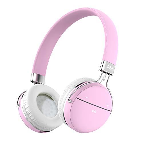 Tribit Xfree Move stereo wireless Bluetooth cuffie con microfono-rosa