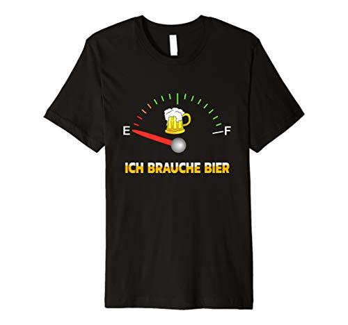 Ich brauche Bier t shirt zum Feiern mit viel Spaß faschings (Ich Brauche Ein Kostüm)