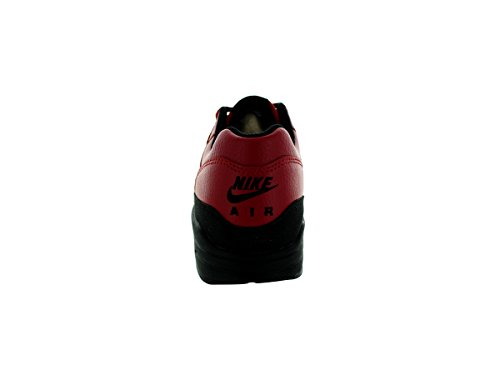 Nike Air Max 1 Ltr Premium, Chaussures de Running Entrainement Homme, Gris Gym Red/Black